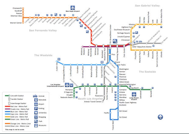 metro conceptdraw_sample_of_metro_map_style_inforgraphics_los_angeles_metro_rail_and_liner