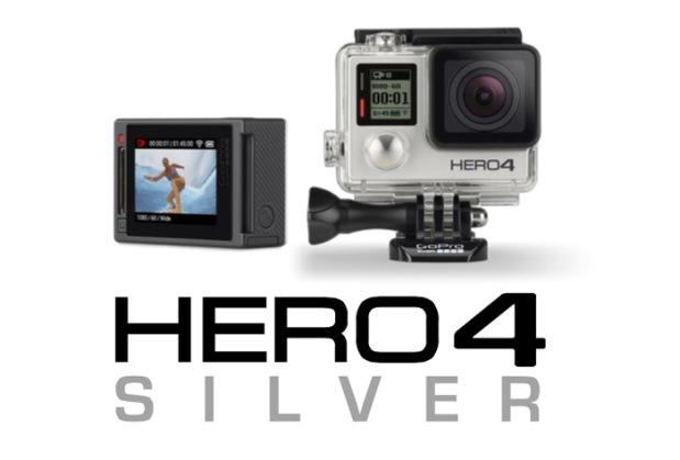 GoPro Hero4-silver