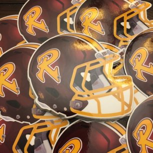 RooseveltRough Riders Football Helmet