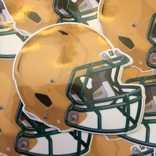 Long Beach Poly Football Helmet