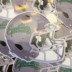 De La Salle Spartans Football Helmet