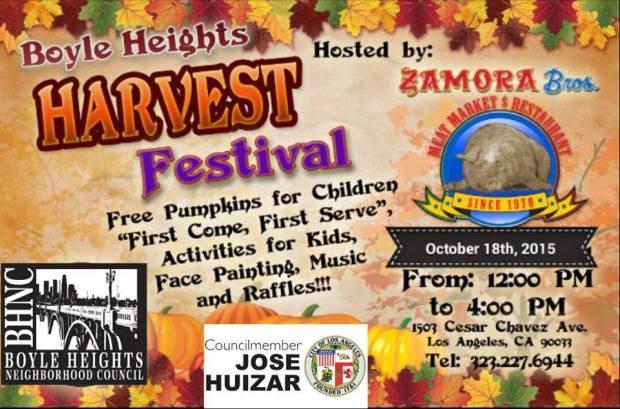 Zamora Bros BH Harvest Festival