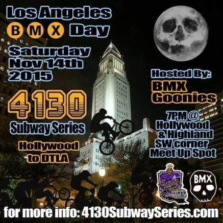 BMX Day 4130 Subway Series BMX Goonies
