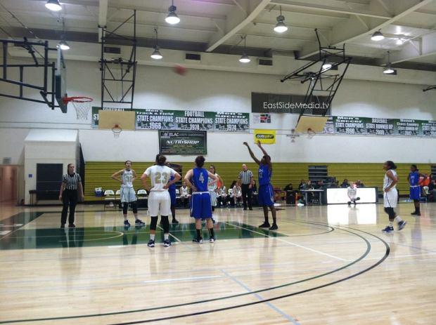 ELAC Womens Basketball vs COC 2015