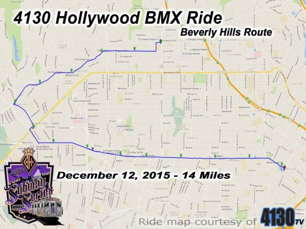 4130 Subway Series Hollywood to Beverly Hills 2015
