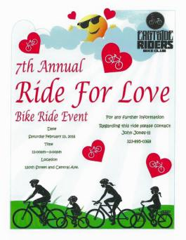 Ride 4 Love Bike Ride 2016