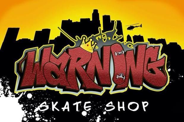 Warning Skate Shop South LA