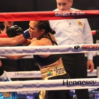 Seniesa Estrada Improves to 14-0 with Third-Round Technical Knockout Victory