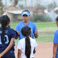"Jelly Felix Hosts ""No Days Off"" Softball Fielding Clinic in Montebello"
